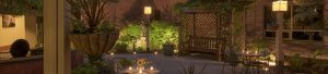 Parties and events in outdoor courtyards - Algoma's Water Tower Inn & Suites