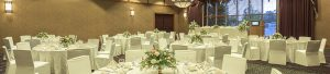 Grand Hall meeting, conference and wedding venue at Algoma's Water Tower Inn & Suites, a Sault Ste. Marie hotel