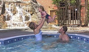Affordable family pool pass