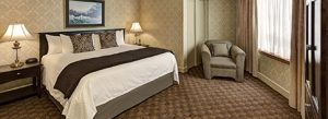 Luxury suite at Algoma's Water Tower Inn & Suites
