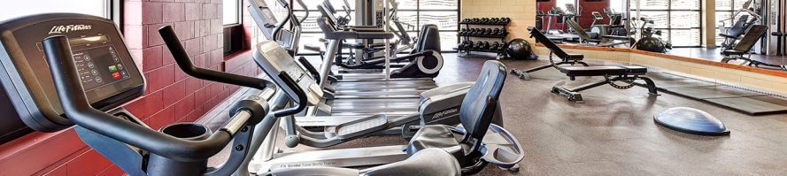 Gym and Fitness Centre in Algoma's Water Tower Inn & Suites.