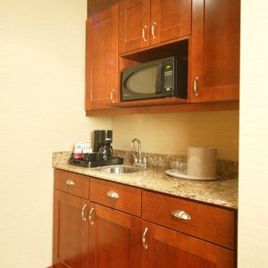 Efficiency kitchen in suite - Sault Ste. Marie hotel
