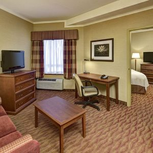 Two-room suite at Sault Ste. Marie motel