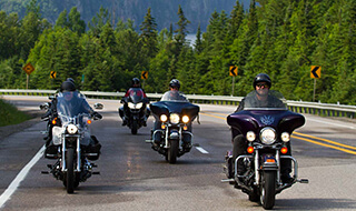 Motorcycle and Tour in Algoma