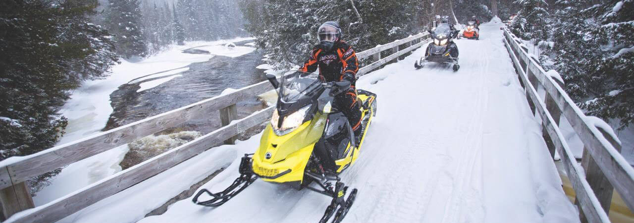 Snowmobiling in Sault Ste. Marie - Stay at Algoma's Water Tower Inn & Suites