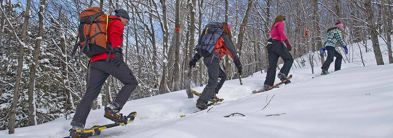 Snowshoeing in Sault Ste. Marie - Algoma's Water Tower Inn & Suites