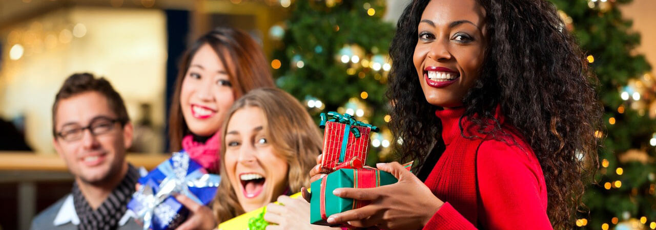 Festive Holiday parties at Casey's, the Water Tower Pub and The Pavilion - Christmas season.