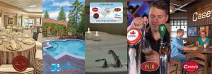 Water Tower Inn gift cards can be used anywhere at the Inn