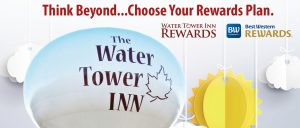 Loyalty Rewards program at The Water Tower Inn. Best Western Rewards