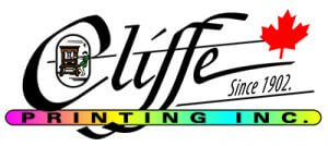 Cliffe Printing - marketing sponsor for United Way golf tournament